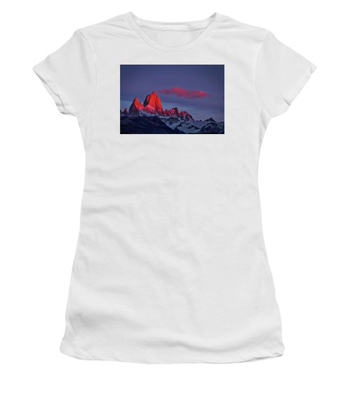 Sunrise At Fitz Roy #3 - Patagonia Women's T-Shirt