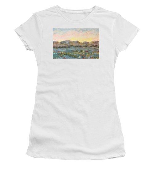 Sunrise At The Pond Women's T-Shirt