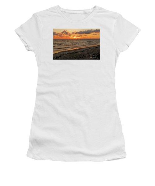 Sunrise Daytona Women's T-Shirt (Junior Cut) by Paul Mashburn