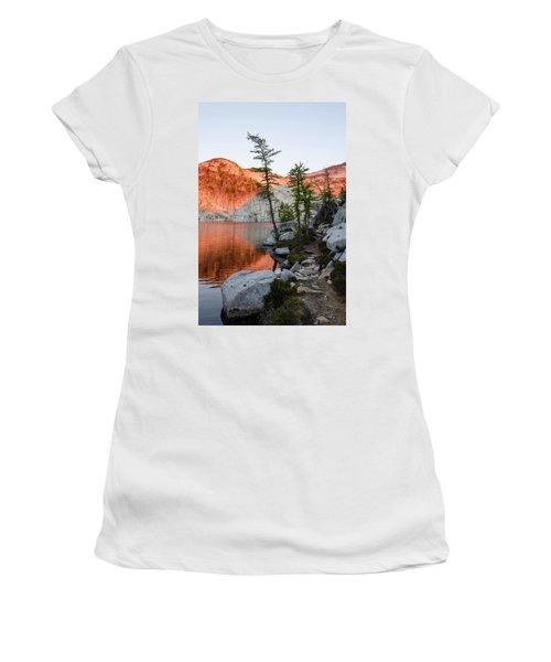 Sunrise In The Enchantments Women's T-Shirt