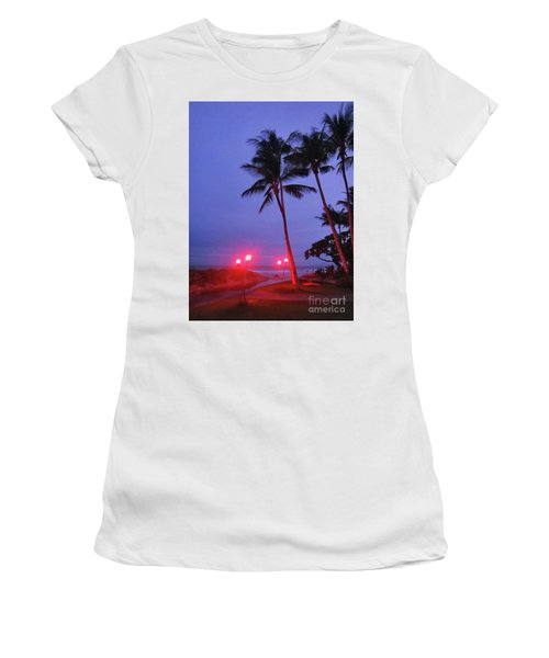Sunrise Ocean Pathway Women's T-Shirt