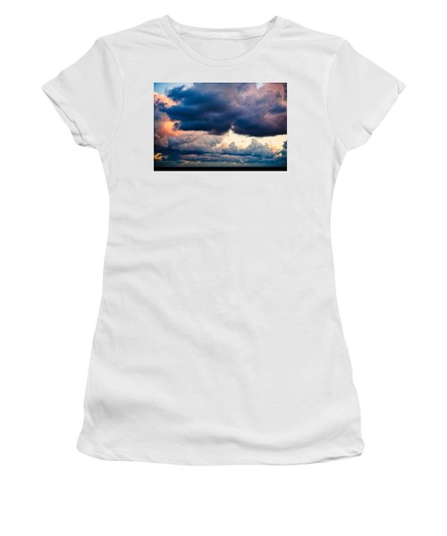 Sunrise On The Atlantic #11 Women's T-Shirt (Athletic Fit)