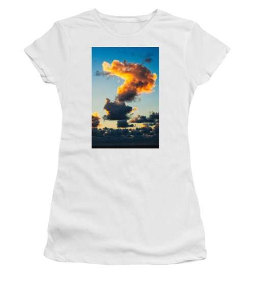 Sunrise On The Atlantic #16 Women's T-Shirt (Athletic Fit)