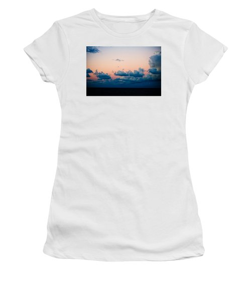 Sunrise On The Atlantic #2 Women's T-Shirt (Athletic Fit)