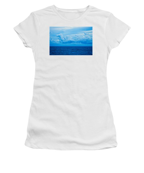 Sunrise On The Atlantic #27 Women's T-Shirt (Athletic Fit)