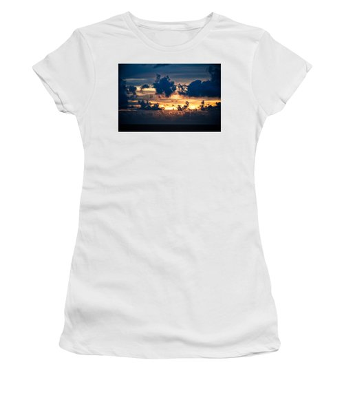 Sunrise On The Atlantic #28 Women's T-Shirt (Athletic Fit)