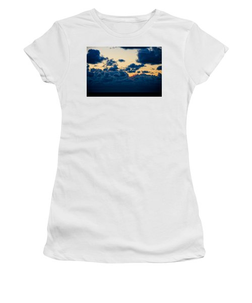 Sunrise On The Atlantic #5 Women's T-Shirt (Athletic Fit)