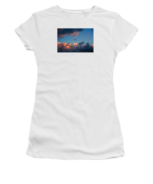 Sunrise On The Atlantic #9 Women's T-Shirt (Athletic Fit)