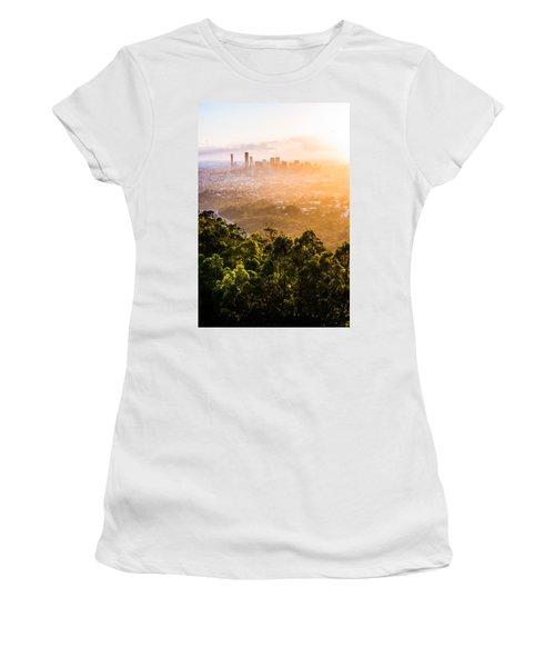 Sunrise Over Brisbane Women's T-Shirt