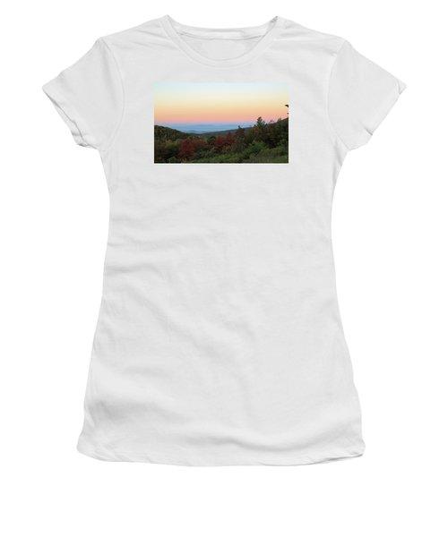 Sunrise Over The Shenandoah Valley Women's T-Shirt
