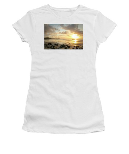 Sunset Beach Delight Women's T-Shirt (Athletic Fit)