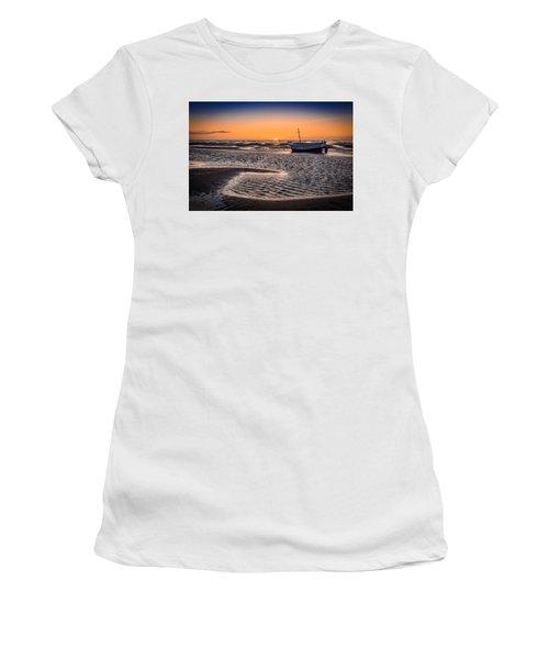 Sunset, Meols Beach Women's T-Shirt