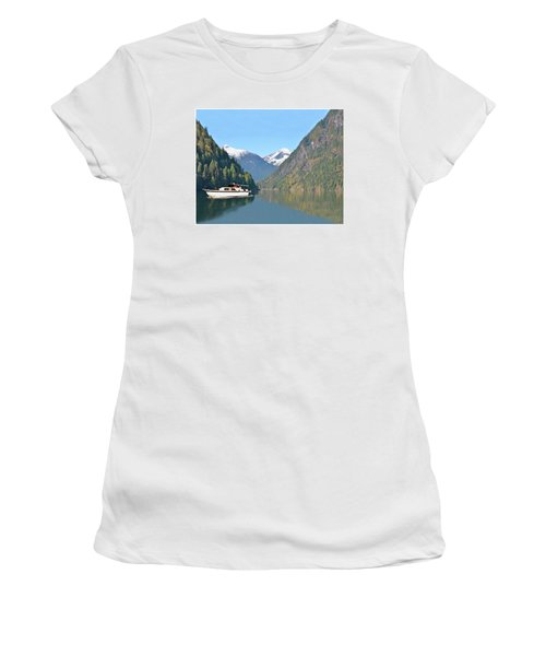 Sunshine Coast Cruising Women's T-Shirt (Junior Cut) by Jack Pumphrey