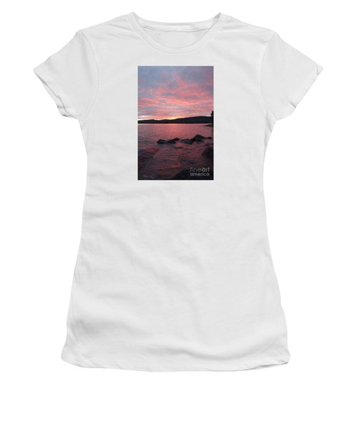 Women's T-Shirt (Junior Cut) featuring the photograph Superior Delight by Sandra Updyke
