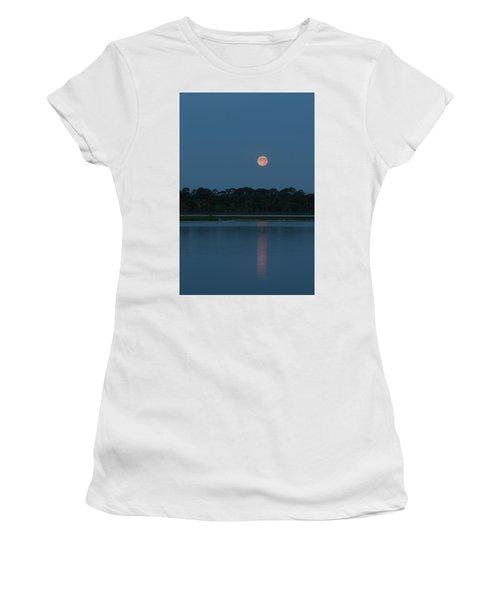 Supermoon Dawn 2013 #2 Women's T-Shirt