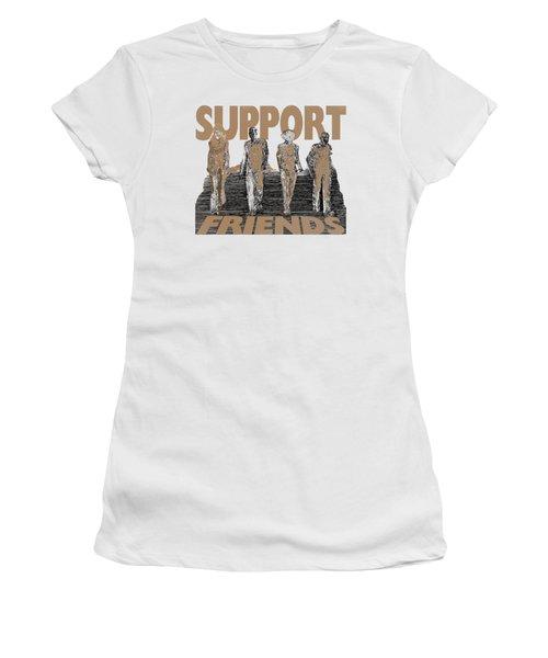 Support Friends Women's T-Shirt