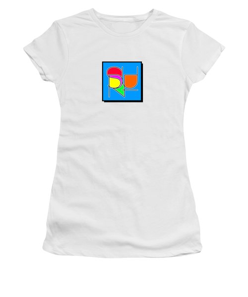 Surf In Abstract Women's T-Shirt