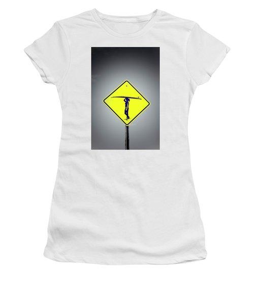 Surfer Girl #3 Women's T-Shirt