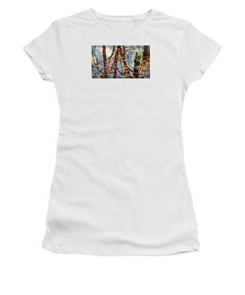 Swamp Reflections Women's T-Shirt (Athletic Fit)
