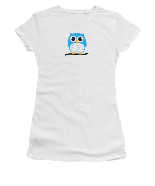 Sweet And Cute Owl Women's T-Shirt (Athletic Fit)