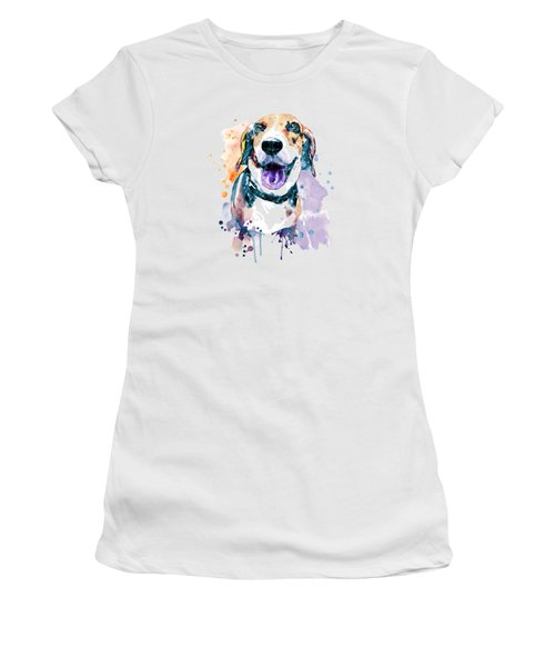 Sweet Beagle Women's T-Shirt (Athletic Fit)