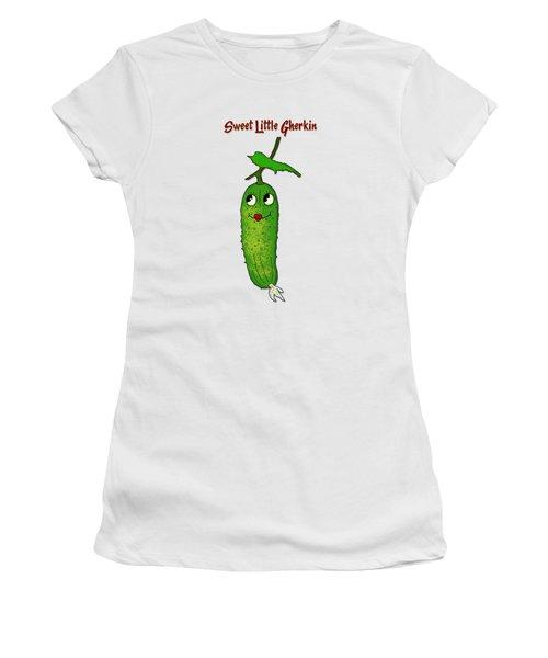 Sweet Little Gherkin Women's T-Shirt