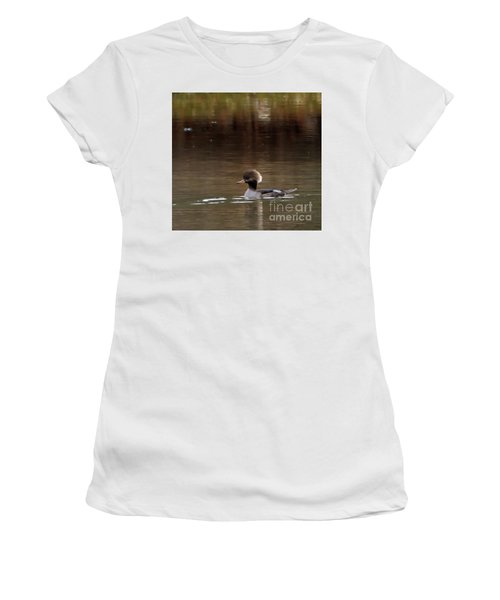 Swimming Alone Women's T-Shirt (Athletic Fit)