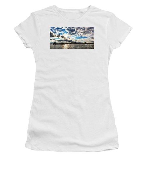 Swing Bridge Drama Women's T-Shirt