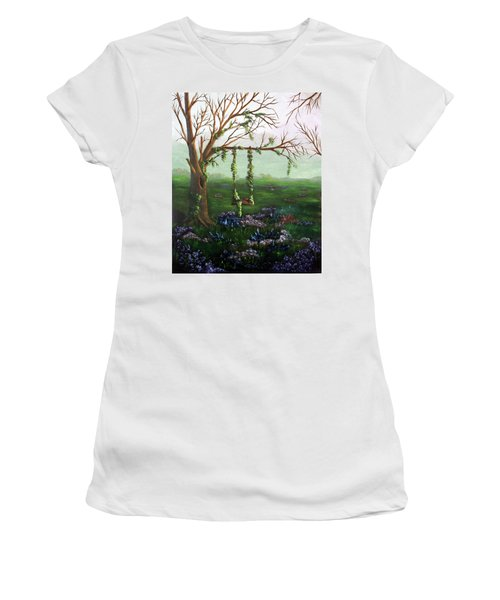Swingin' With The Flowers Women's T-Shirt