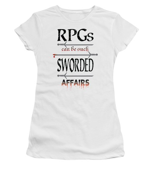 Sworded Affairs Light Women's T-Shirt (Athletic Fit)