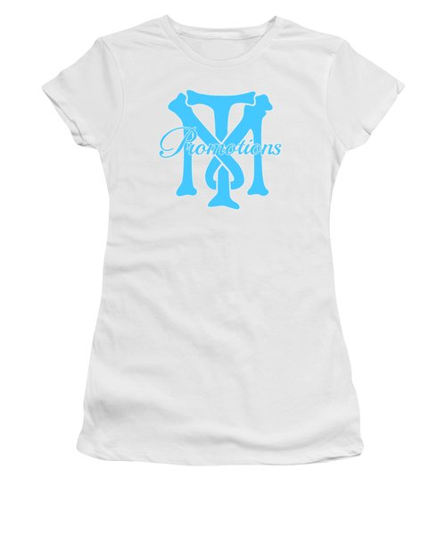Women's T-Shirt (Junior Cut) featuring the drawing T And M Promotions Logo by Nicholas Grunas