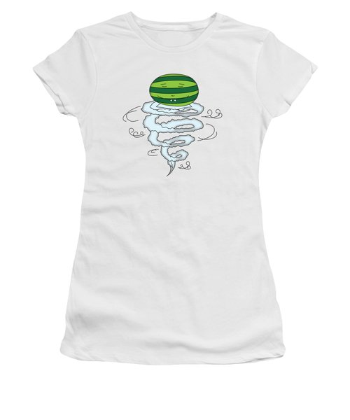 T H E . E L E M E L O N S ______________ A I R M E L O N Women's T-Shirt (Athletic Fit)