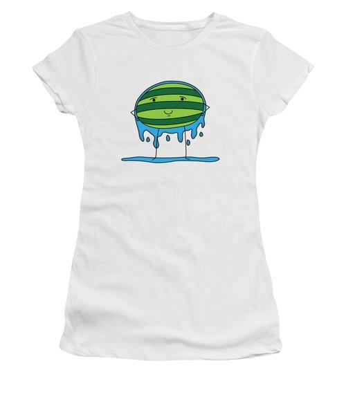 T H E . E L E M E L O N S ______________ W A T E R M E L O N Women's T-Shirt (Junior Cut) by H U M E A I M A R T