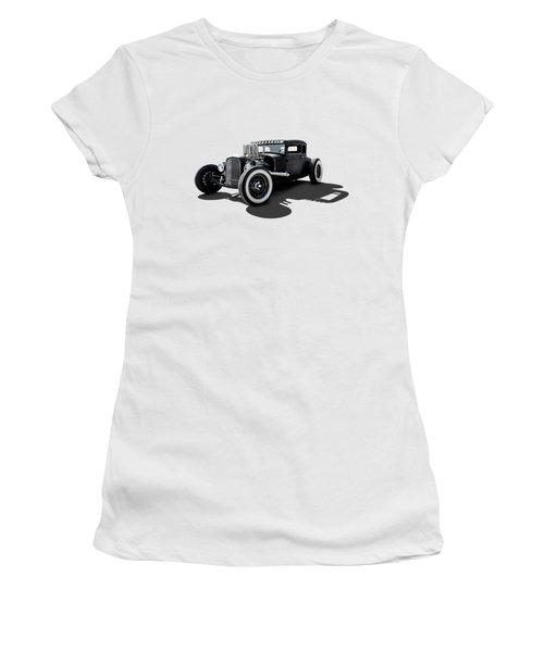 T Rex Women's T-Shirt (Athletic Fit)