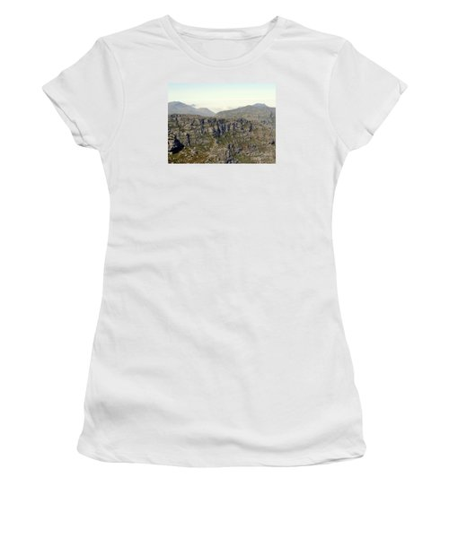 Table Rock View Women's T-Shirt (Junior Cut) by John Potts