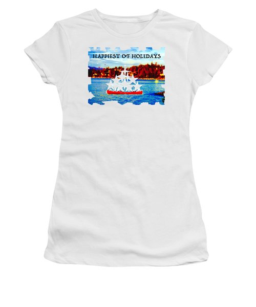 Tahoe Christmas Women's T-Shirt
