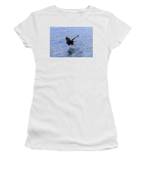 Tail Landing Women's T-Shirt (Athletic Fit)