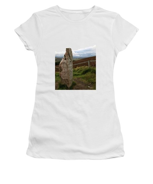 Women's T-Shirt featuring the photograph Take A Moment by Rasma Bertz