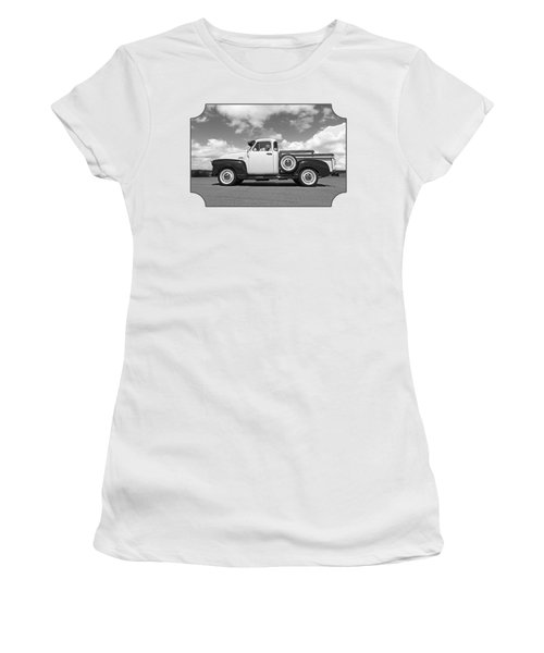 Take Me With You - Black And White Women's T-Shirt