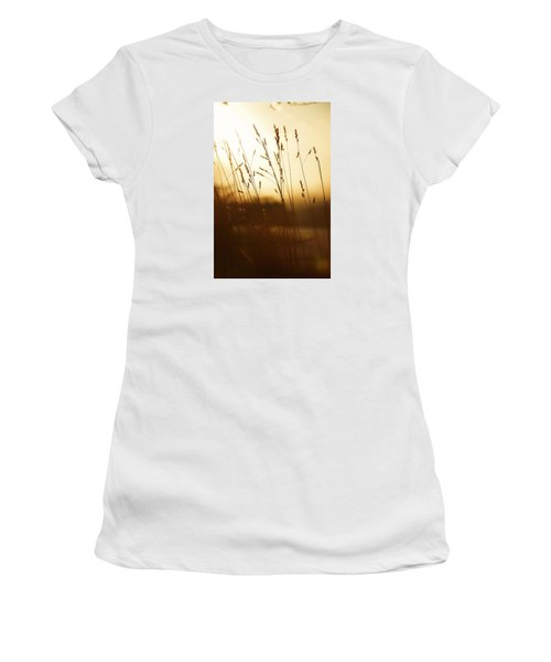Tall Grass In The Morning Women's T-Shirt (Athletic Fit)
