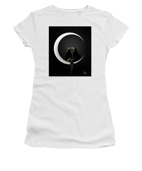Talleycats - Moonglow Women's T-Shirt (Athletic Fit)