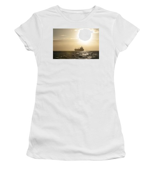 Tanker In Sun Women's T-Shirt