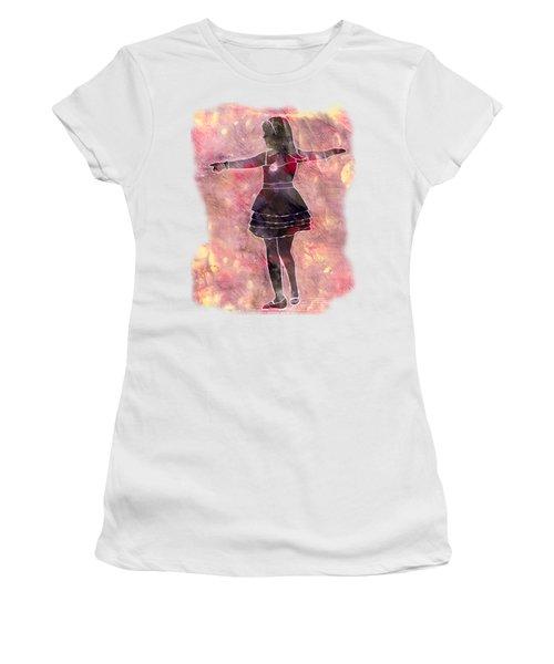 Tap Dancer 2 - Pink Women's T-Shirt