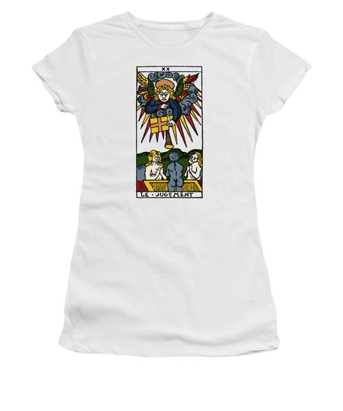 Tarot Card Judgement Women's T-Shirt (Athletic Fit)