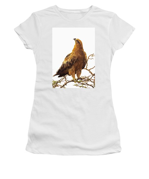 Tawny Eagle Women's T-Shirt (Athletic Fit)