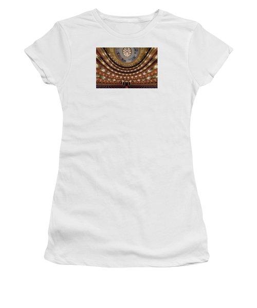 Teatro Colon Performers View Women's T-Shirt (Junior Cut) by Randy Scherkenbach