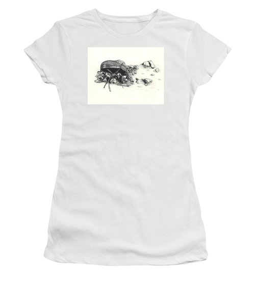 Darkling Beetle Women's T-Shirt (Athletic Fit)