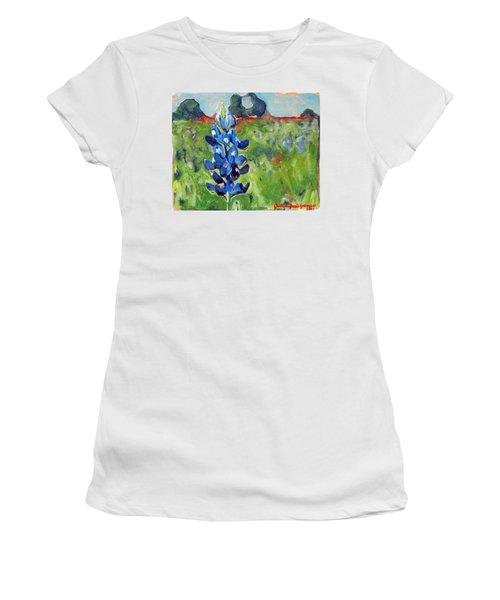 Texas Blue Bonnet Women's T-Shirt