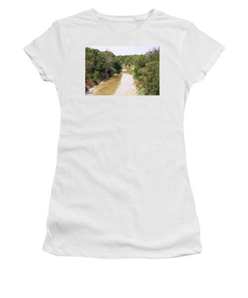 Texas River Women's T-Shirt (Athletic Fit)