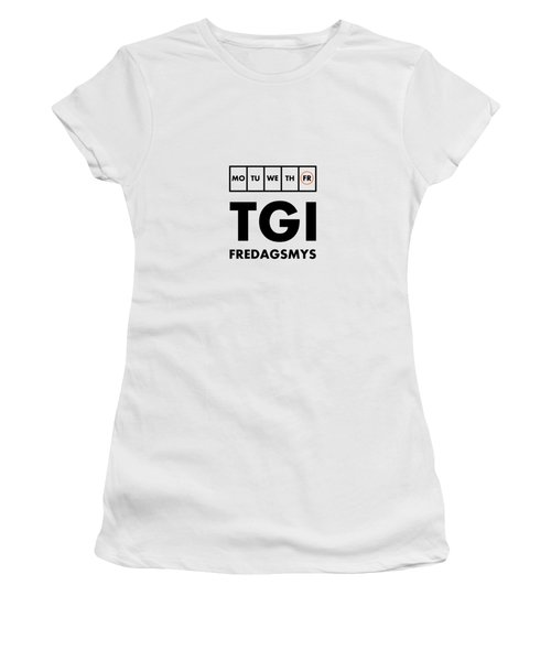 Tgi Fredagsmys Women's T-Shirt (Athletic Fit)